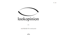 Lookopinion website - website